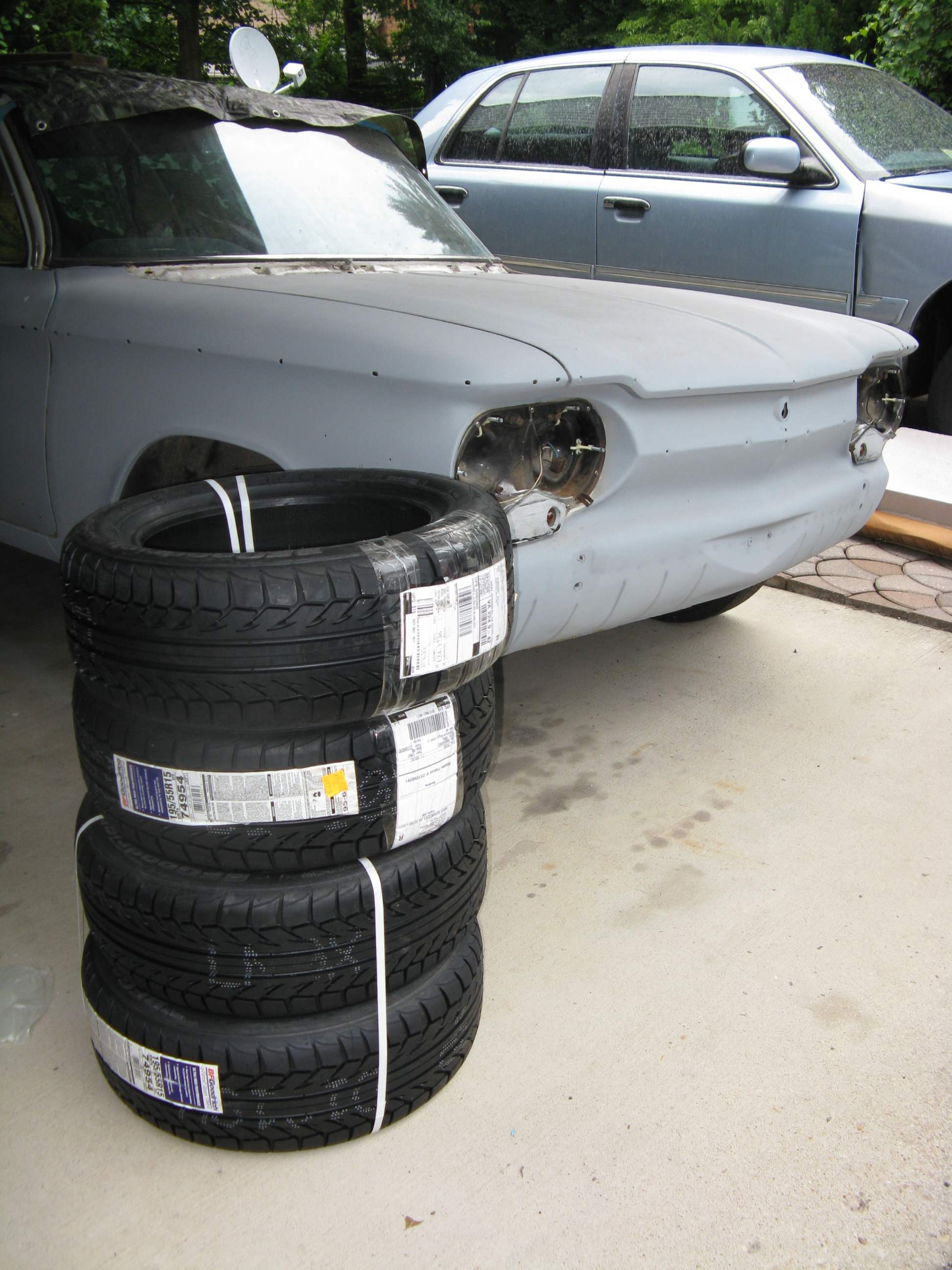 Corvair Street Autocross and Racing Wheels and Tires