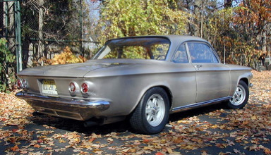 Albert's '63 coupe rear